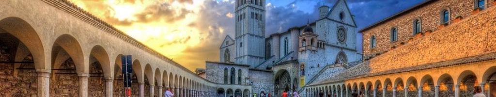itinerario 1 – Eremo delle Carceri, San Damiano, Santa Maria degli Angeli